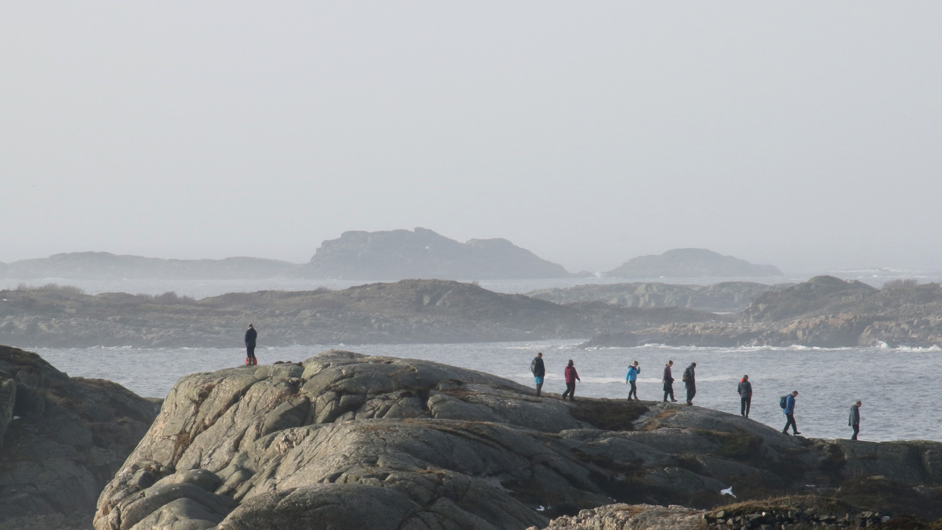 Tur til Flekkerøya/Mæbø 21.Februar 2021